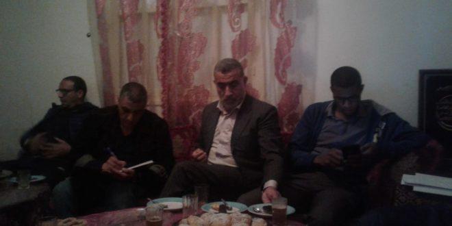 محلية الحزب بأكادير في تواصل مع ساكنة الحي الحسني وأمسرنات